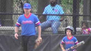 southside baseball 5 6u cubs vs orioles 4 19 2016