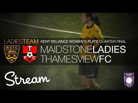 Maidstone United Ladies Vs Thamesview FC (21/01/18)