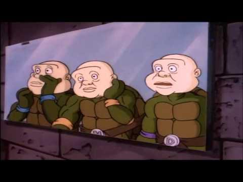 TMNT 1987 human masks