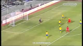 АПОЕЛ 0-1 Мидтьюлланд  Лига Чемпионов 2015-16  3 й кв раунд   2 й матч