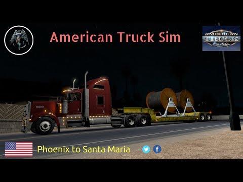 American Truck Simulator | Phoenix to Santa Maria