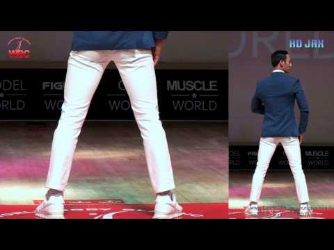 2013 Open World Body Classic Male Model World Round 1 Part 2
