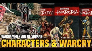 Bols Unboxing | Aos Characters & Warcry Goodies | Games Workshop