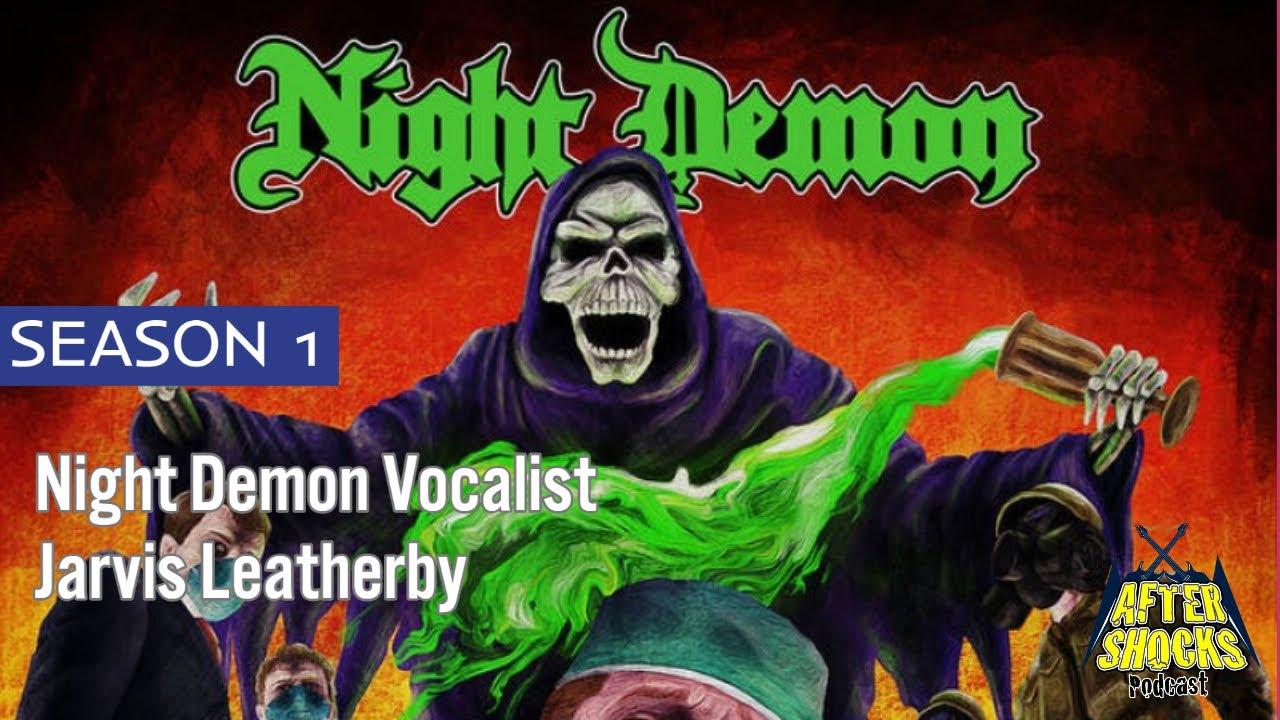 AFTERSHOCKS EXCLUSIVE - Night Demon Vocalist Bassist Jarvis Leatherby