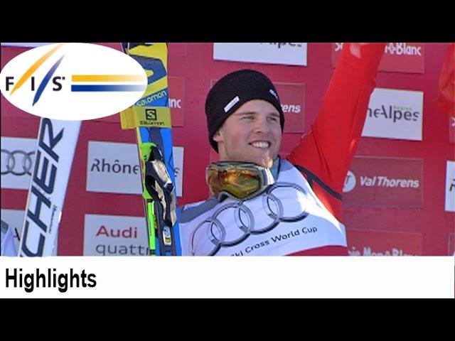 A newcomer from Switzerland | Audi FIS Ski Cross Highlights #1
