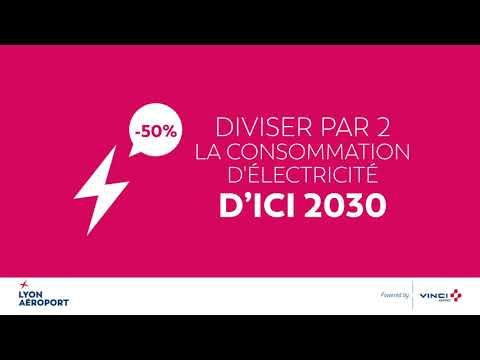 Lyon Aéroport : Nos engagements pour l'environnement à l'horizon 2030
