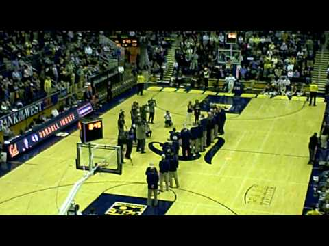 Darrall Imhoff retirement ceremony - Cal Bears Bas...