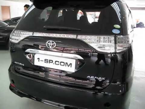 2010 TOYOTA ESTIMA AERAS 24 USED CAR FOR SALE IN MALAYSIA BY 1SP