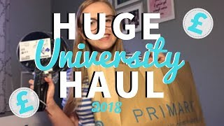 HUGE UNIVERSITY HAUL 2018 | IKEA, PRIMARK & MORE!