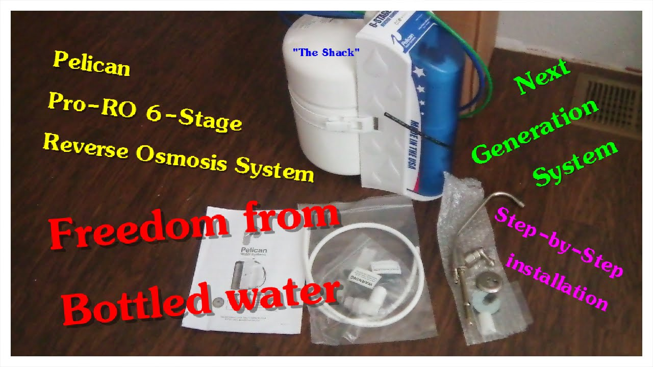 How To Install Under Sink Reverse Osmosis System Pelican