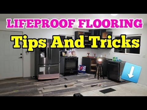 INSTALL LIFEPROOF VINYL FLOORING TIPS AND TRICKS