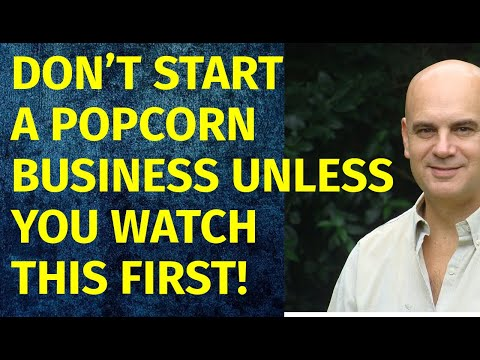 How To Start A Popcorn Business | Including Free Popcorn Business Plan Template