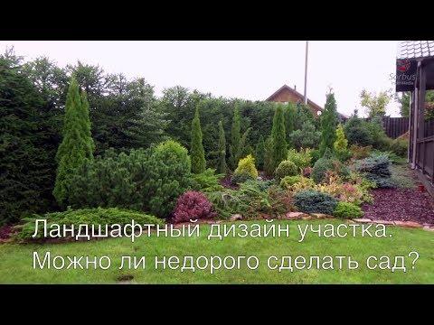 Ландшафтный дизайн участка. Можно ли недорого сделать сад?  Ландшафтный дизайн участка часть 3.
