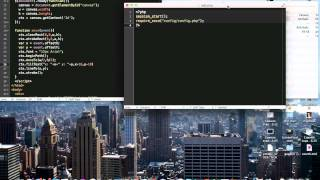 HTML 5 CANVAS - Ajax and PHP [Tutorial]