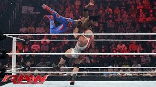 The Miz & Kofi Kingston vs. Ryback & Curtis Axel: Raw, Dec. 2, 2013