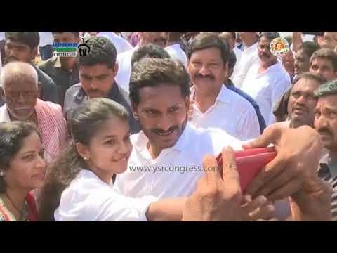 YS JAGAN :139th day Praja Sankalpa Yatra at krishna dist -18th april 2018 .