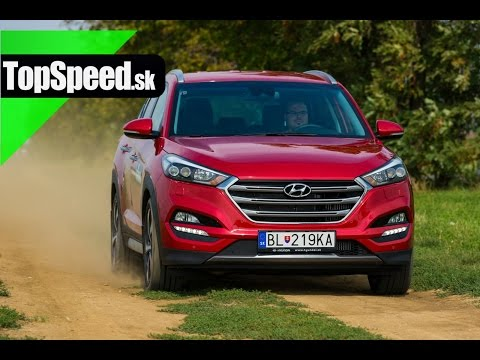 Test Hyundai Tucson 1.6 T GDi TopSpeed.sk