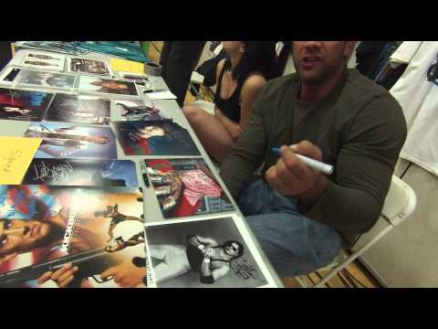 Meeting Sasha Mitchell For The First Time At PWS 103114