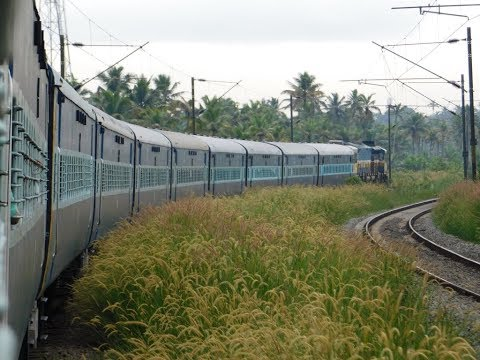Mumbai To Kerala Via Konkan : Full Train Journey : Indian Railways : Konkan Railways