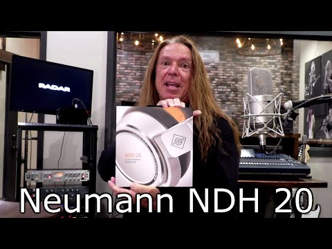 What Headphones I Use And Why - Neumann NDH 20 - Ken Tamplin Vocal Academy
