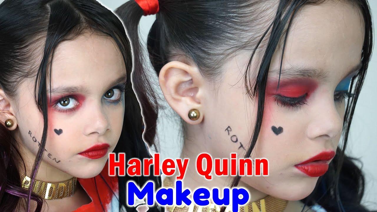 HARLEY QUINN MAQUILLAJE HALLOWEEN