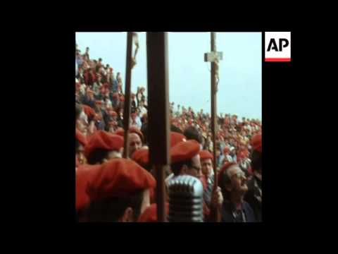 SYND 6-5-74 PRO MONARCHY RALLY IN SPAIN