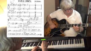 Phase Dance - guitar & piano jazz cover (Pat Metheny) - Yvan Jacques