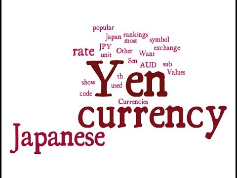 Japanese Currency Yen Youtube