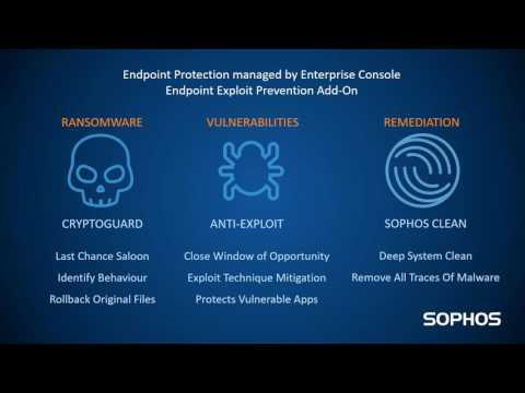 Sophos Endpoint Exploit Protection Launch Webinar