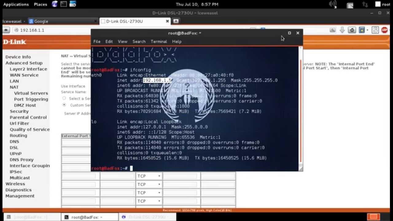 Set Up Port Forwarding in Kali Linux and Testing