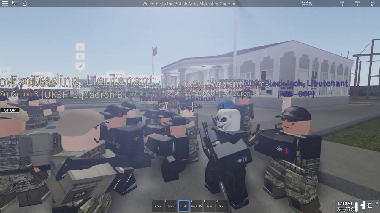 Roblox Sas Recruitment Video By Ulysses Unioncommandyt