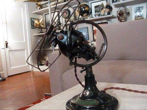 The All British  U0026 39 Zephyr U0026 39  Antique Oscillating Electric Fan