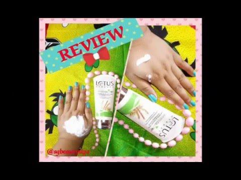 Lotus Herbals White Glow Oatmeal & Yogurt Skin Whitening Scrub Review