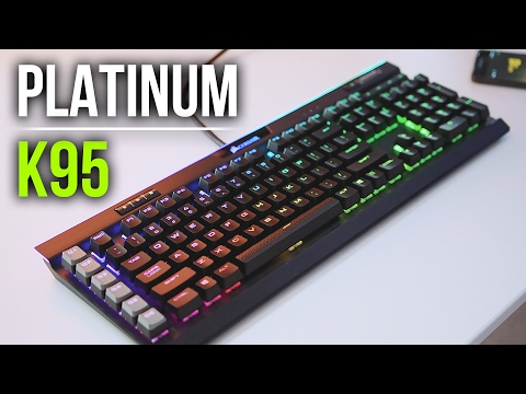 The $200 Keyboard: Corsair K95 RGB Platinum