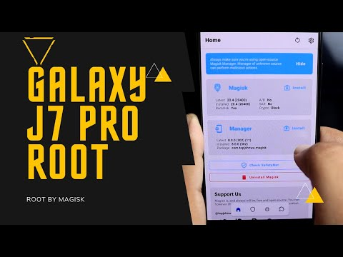 Galaxy J7 Pro Root | Android 9 Version