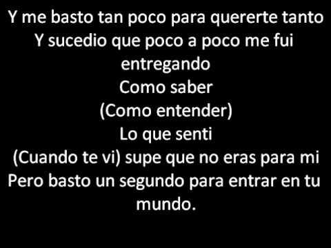 Me Basto - Camila