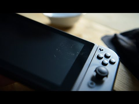 Nintendo Switch Screen Cleaning