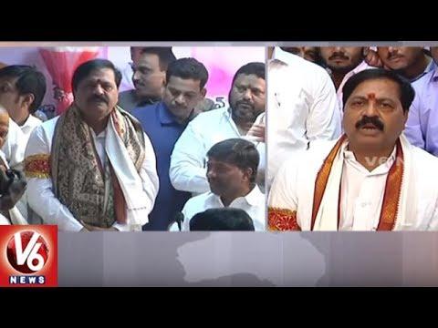 Devi Prasad Take Charge As Telangana State Beverages Corporation Chairman | V6 News