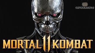"The Return Of Terminator's Endoskeleton! - Mortal Kombat 11: ""Terminator"" Gameplay"