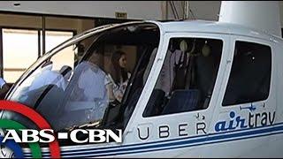 TV Patrol: Uber, may libreng sakay sa pampasaherong helicopter