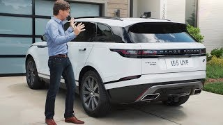 2018 Range Rover Velar Review - interior Exterior and Drive
