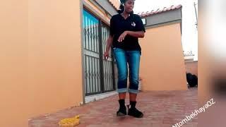 @NtombekhayaOZ dancing to Nasty C's NDA (SA HipHop)