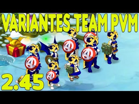 [Dofus] Mes choix de variantes/classes team PVM de 8 (maj 2.