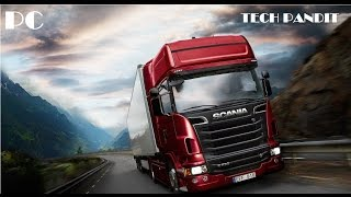 How to Download Scania Truck Driving Simulator in HINDI l Tech Pandit l