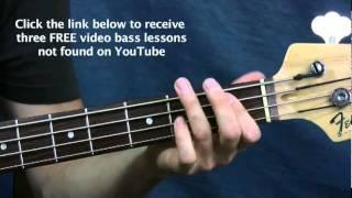 bass guitar lessons  the joker  steve miller