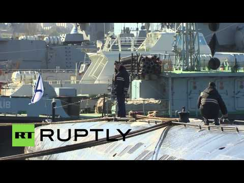 Russia: Ukraine Navy's sole submarine joins Black Sea Fleet