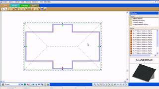 TurboFLOORPLAN :: Ukázka návrhu sedlové střechy :: ŠPINAR - software