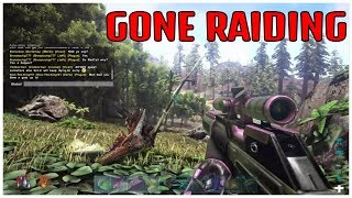 OFFICIAL PvP RAIDING AND GETTING KILLED ARK Survival Evolved PS4