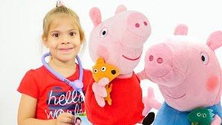 Свинка Пеппа и Джордж. Видео для детей