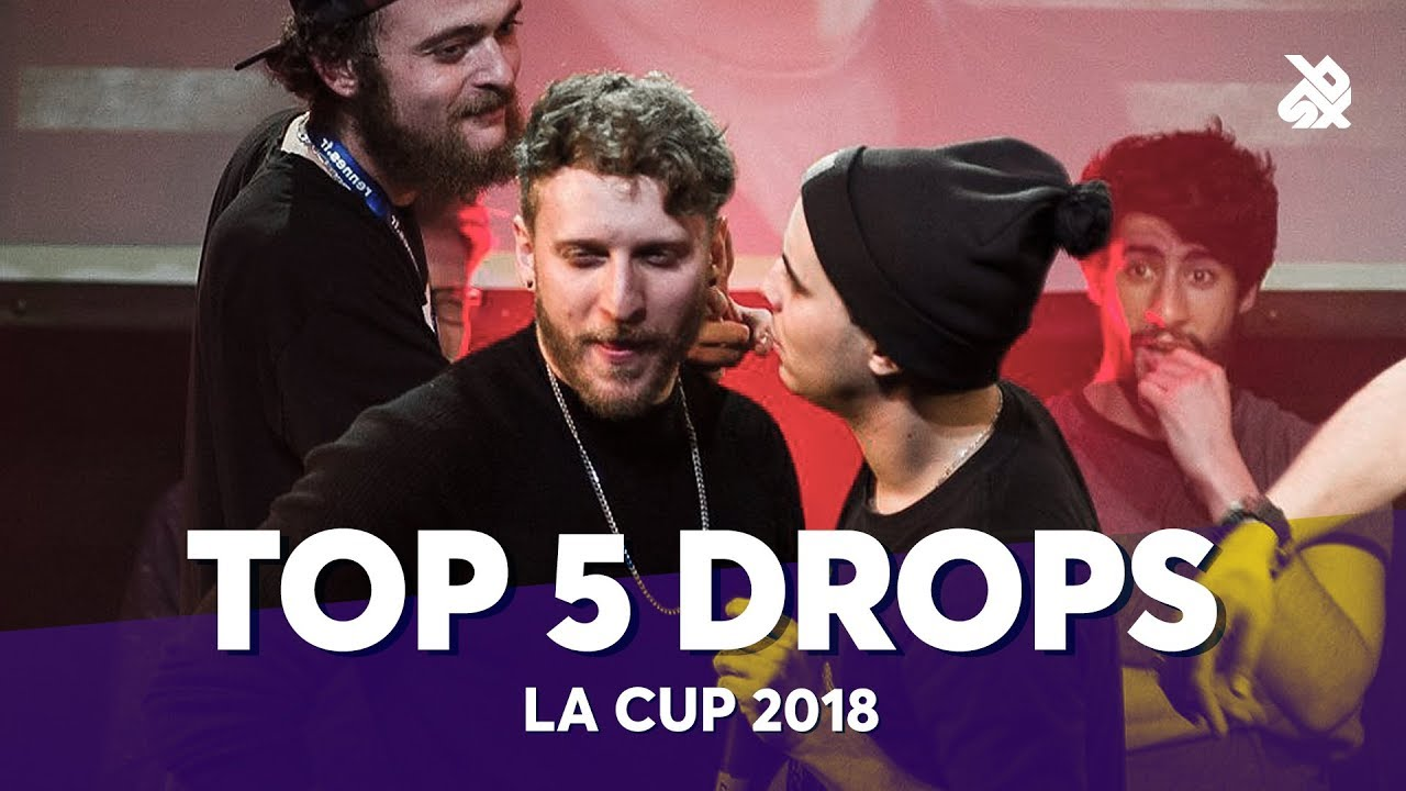 TOP 5 DROPS 😱 LA CUP WORLDWIDE 2018